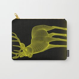 numeric deer 4 Carry-All Pouch