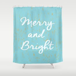 Merry and Bright Shower Curtain