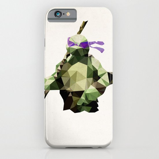 Polygon Heroes - Donatello iPhone & iPod Case