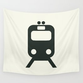 Train Wall Tapestry