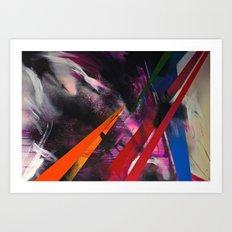 Razor Art Print