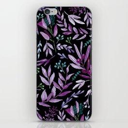 Eucalyptus Violet iPhone Skin