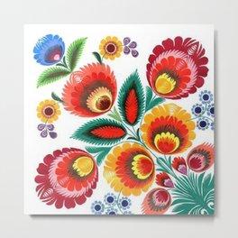 Flores de Tlali Metal Print