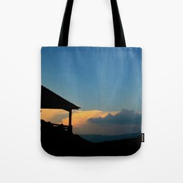 Sweet Silhouette * Little Switzerland  Tote Bag