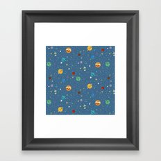 Out Of This World Cuteness Framed Art Print
