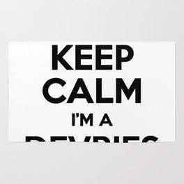 I cant keep calm I am a DEVRIES Rug