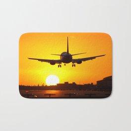 Beautiful 737 Sunset Bath Mat