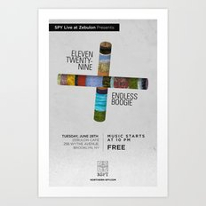 Eleven Twenty-Nine / Endless Boogie Art Print