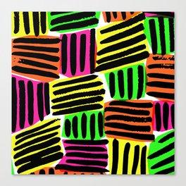 Neons - Sarah Bagshaw Canvas Print