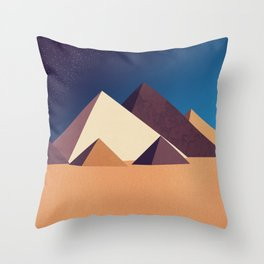 Dawn on Kings Throw Pillow