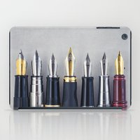 write iPad Cases featuring Wready to Write by Colleen Farrell