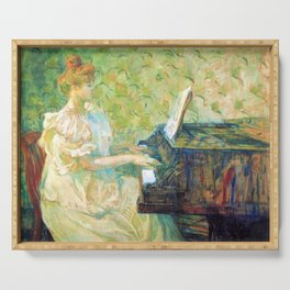 "Henri de Toulouse-Lautrec ""Misia Sert"" Serving Tray"