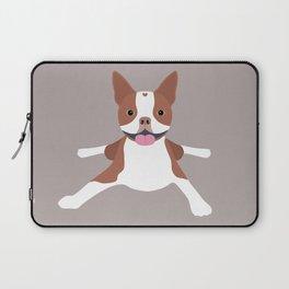 red boston terrier Laptop Sleeve