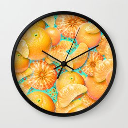 Clementine Wall Clock