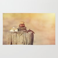 balance Area & Throw Rugs featuring Balance    by LebensART Photography
