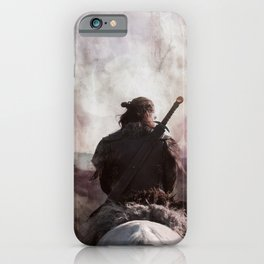 Destiny Is All - Uhtred The Last Kingodm iPhone Case