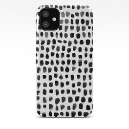 Watercolor Dots iPhone Case
