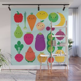 5 A Day Wall Mural