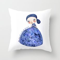 We Are Made Of Stardust Throw Pillow