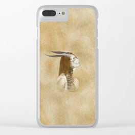Horn 2 Clear iPhone Case