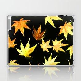 AUTUMN ROMANCE - LEAVES PATTERN #4 #decor #art #society6 Laptop & iPad Skin