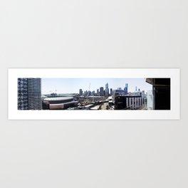 Docklands Panoramic  Art Print