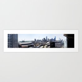 Docklands Panoramic  Art Print