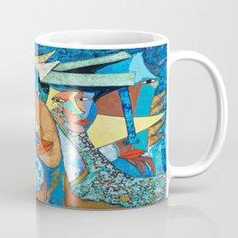Mis reflejo, Olio/ lienzo técnica mixta Coffee Mug