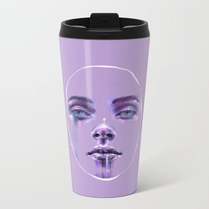 Masks We Wear Metal Travel Mug