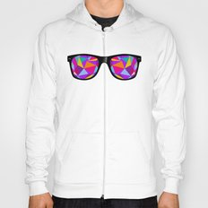 sunglasses with abstract geometric triangles Hoody