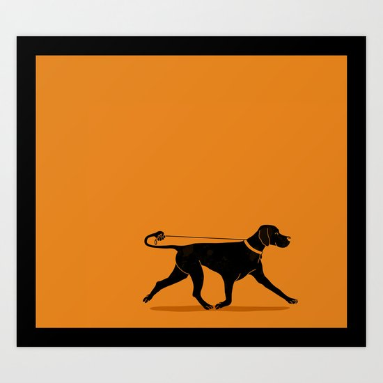 Pointer Art Print