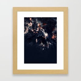 NIGHT HUNTER Framed Art Print