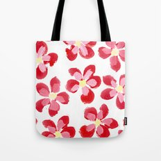 Posey Power - Red Multi Tote Bag