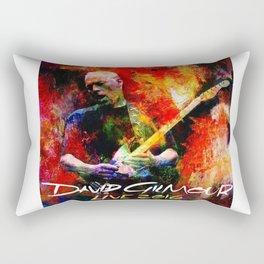 David Gilmour Live 2016 Rectangular Pillow