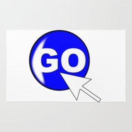 Computer Icon Go Rug