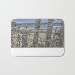 Beach Front View  Bath Mat