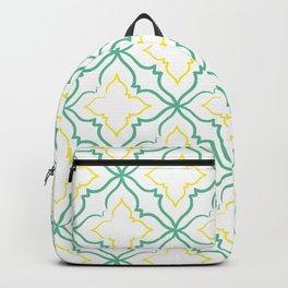Alhambra Tile Pattern Backpack