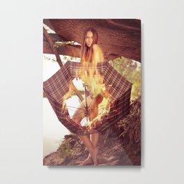 E. Metal Print