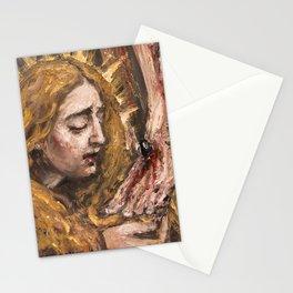 Penitent Saint Mary Magdalene II Stationery Cards