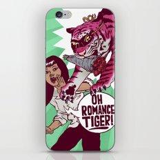 Oh Romance Tiger! iPhone Skin