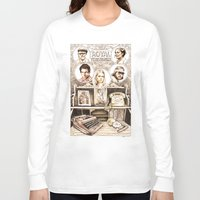 tenenbaums Long Sleeve T-shirts featuring The Royal Tenenbaums by Aaron Bir by Aaron Bir