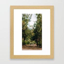 Walking Dada Framed Art Print