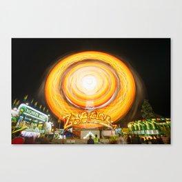 The Zipper Canvas Print