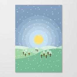Hibernum Canvas Print