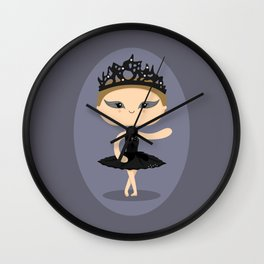 Natalie Swan Wall Clock