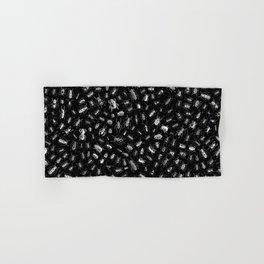 Beetlemania II B&W INVERT Hand & Bath Towel