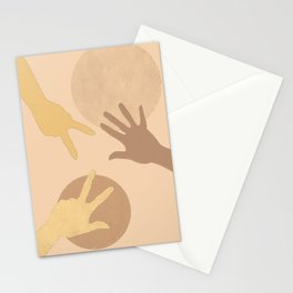 To play together Stationery Cards