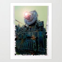 Engine 519 Art Print