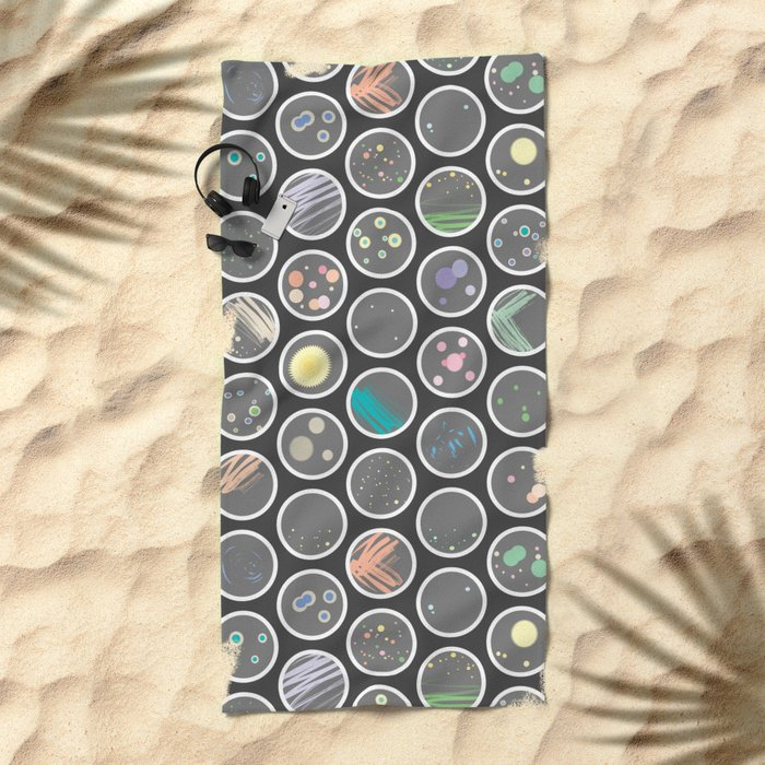 Petri Dish Beach Towel