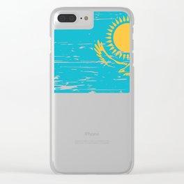 Kazakhstan Gift Idea for Kazakh Clear iPhone Case